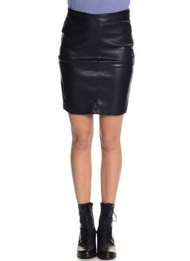 Vero Moda Mini Etek Siyah